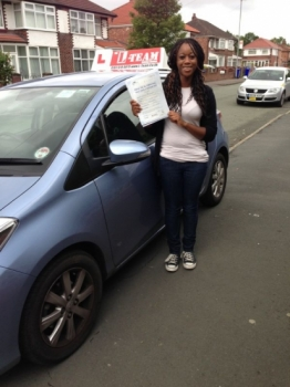 thank you L team driving school my instructor that you gave me sira help me to pass my test first time i recommend any one to learn with L TEAM  driving school thanks again.)