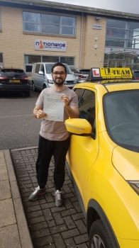 Congratulations to Yousaf passing his driving test with L-Team driving school for the first time!! #passed#driving#learner🏆 #manchester#drivinglessons #help #learning #cars Call us know to get booked in on 0333 240