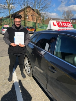 Congratulations to Waqas passing his driving test with L-Team driving school for the first time!! #passed#driving#learner🏆 #manchester#drivinglessons #help #learning #cars Call us know to get booked in on 0333 240