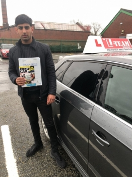 Congratulations to Awaes passing his driving test with L-Team driving school for the first time!! #passed#driving#learner🏆 #manchester#drivinglessons #help #learning #cars Call us know to get booked in on 0333 240 6430