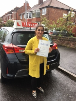 Congratulations to Mubashra passing her driving test with L-Team driving school for the first time!! #passed#driving#learner🏆 #manchester#drivinglessons #help #learning #cars Call us know to get booked in on 0333 240 6430