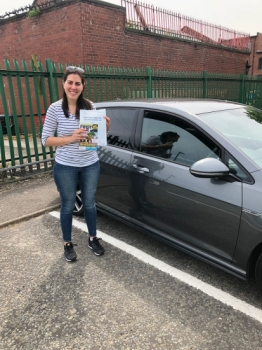 Congratulations to Yubitza passing her driving test with 