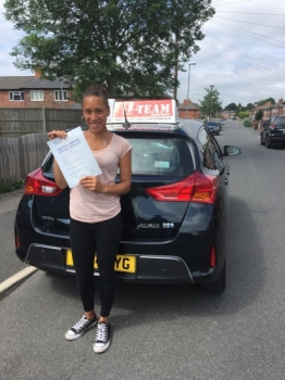 Congratulations to Sobia passing her driving test with L-Team driving school for the first time!! #passed#driving#learner🏆 #manchester#drivinglessons #help #learning #cars Call us now to get booked in on 0333 240 6430