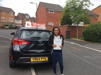 Congratulations to Anisa passing her driving test with L-Team driving school for the first time!! #passed#driving#learner🏆 #manchester#drivinglessons #help #learning #cars Call us now to get booked in on 0333 240 6430