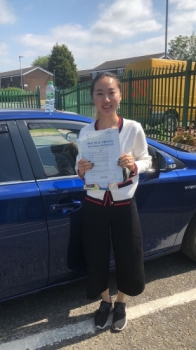 Congratulations to Wen Wang  passing her driving test with L-Team driving school for the first time!! #passed#driving#learner🏆 #manchester#drivinglessons #help #learning #cars Call us now to get booked in on 0333 240 6430