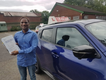 Congratulations to Sathya passing his driving test with L-Team driving school for the first time!! #passed#driving#learner🏆 #manchester#drivinglessons #help #learning #cars Call us now to get booked in on 0333 240 6430