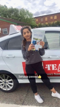 Congratulations to Sehabia passing her driving test with L-Team driving school for the first time!! #passed#driving#learner🏆 #manchester#drivinglessons #help #learning #cars Call us now to get booked in on 0333 240 6430