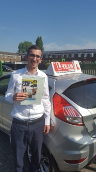 Congratulations to Dave passing his driving test with L-Team driving school for the first time!! #passed#driving#learner🏆 #manchester#drivinglessons #help #learning #cars Call us now to get booked in on 0333 240 6430