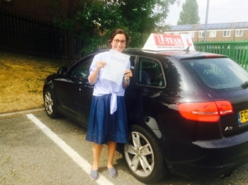 Congratulations to Michelle passing her driving test with L-Team driving school for the first time!! #passed#driving#learner🏆 #manchester#drivinglessons #help #learning #cars Call us now to get booked in on 0333 240 6430