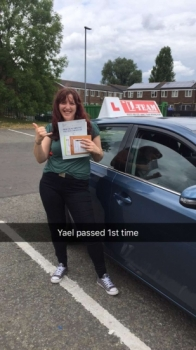 Congratulations to Yael passing her driving test with L-Team driving school for the first time!! #passed#driving#learner🏆 #manchester#drivinglessons #help #learning #cars Call us now to get booked in on 0333 240 6430