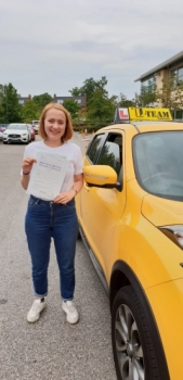 Congratulations to caitlin passing her driving test with L-Team driving school for the first time!! #passed#driving#learner🏆 #manchester#drivinglessons #help #learning #cars Call us now to get booked in on 0333 240 6430<br />