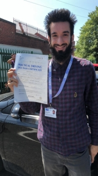 Congratulations to Hamza passing his driving test with L-Team driving school for the first time!! #passed#driving#learner🏆 #manchester#drivinglessons #help #learning #cars Call us now to get booked in on 0333 240 6430<br />