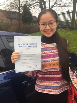 Congratulations to MS WAN passing her driving test with L-Team driving school for the first time!! #passed#driving#learner #manchester#drivinglessons #help #learning #cars  Call us know to get booked in on 0161 610 0079