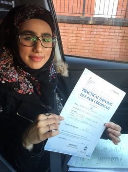 Congratulations to Qurratulayn passing her driving test with L-Team driving school for the first time!! #passed#driving#learner #manchester#drivinglessons #help #learning #cars Call us know to get booked in on 0161 610 0079