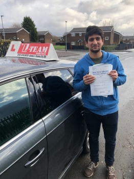 Congratulations to Shahroz passing his driving test with L-Team driving school for the first time!! #passed#driving#learner #manchester#drivinglessons #help #learning #cars Call us know to get booked in on 0161 610 0079
