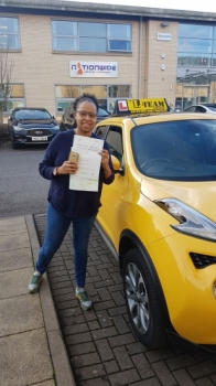 Congratulations to Carrina passing her driving test with L-Team driving school for the first time!! #passed#driving#learner #manchester#drivinglessons #help #learning #cars Call us know to get booked in on 0161 610 0079