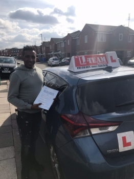 Congratulations to Hannock passing his driving test with L-Team driving school for the first time!! #passed#driving#learner #manchester#drivinglessons #help #learning #cars Call us know to get booked in on 0161 610 0079