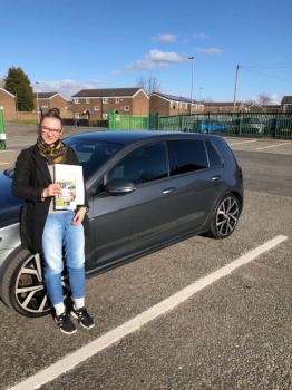 Congratulations to Julia passing her driving test with